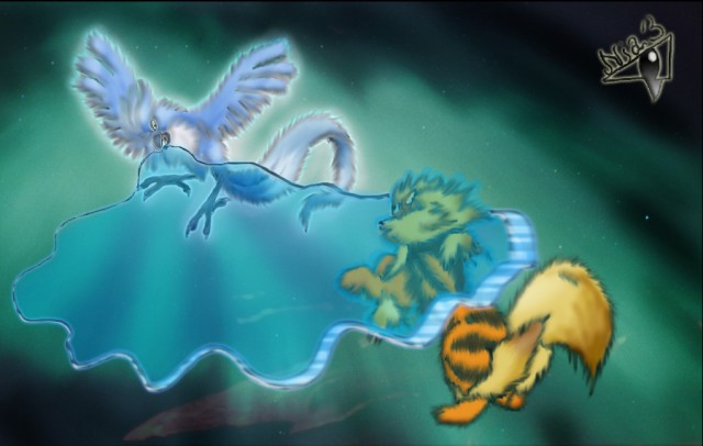 Articuno, used Sheery Cold