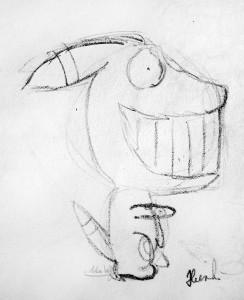 Athelin avatar sketch