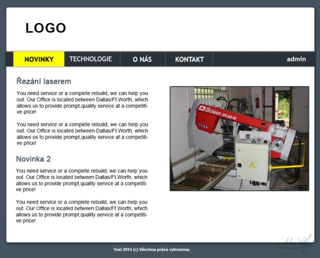 Webovky pro techniku #1