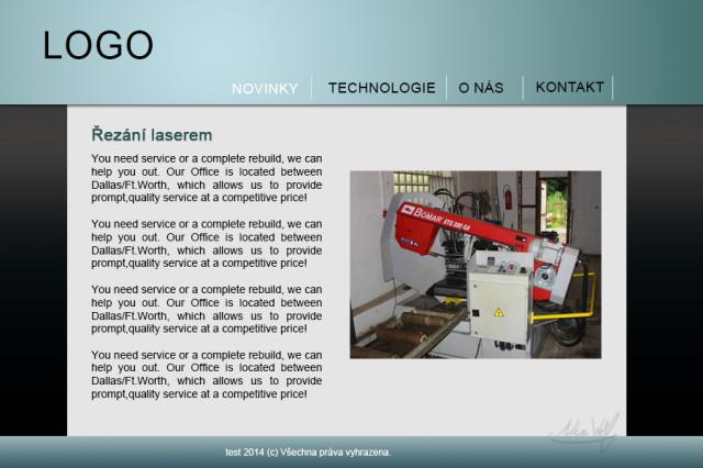 Webovky pro techniku #2