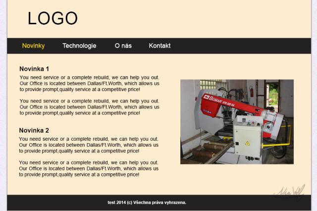 Webovky pro techniku #3
