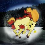 Ponyta přinášející jaro